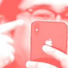 Agarrado por los iPhones