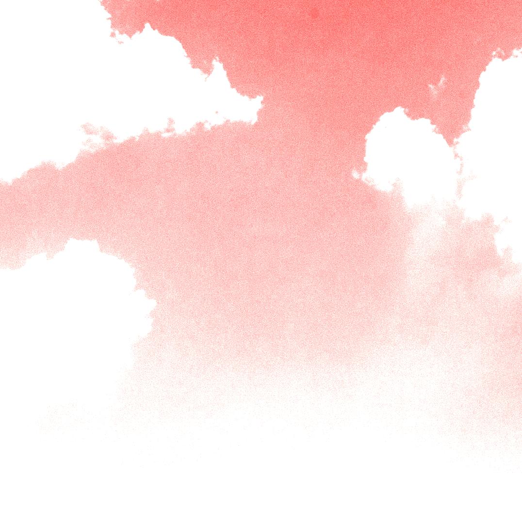 Nubes blancas y dientes azules