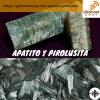 Apatito y Pirolusita